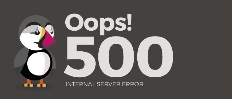 solucionar el error 500 en Prestashop