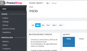 Error spinner precarga prestashop