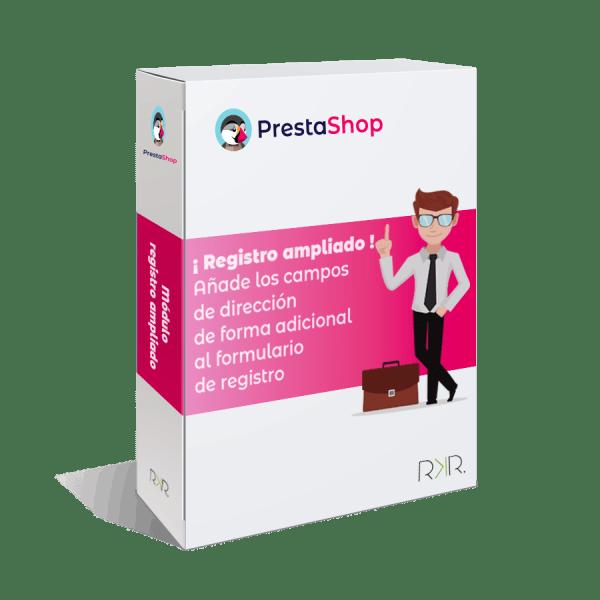 Módulo de registro ampliado de Prestashop