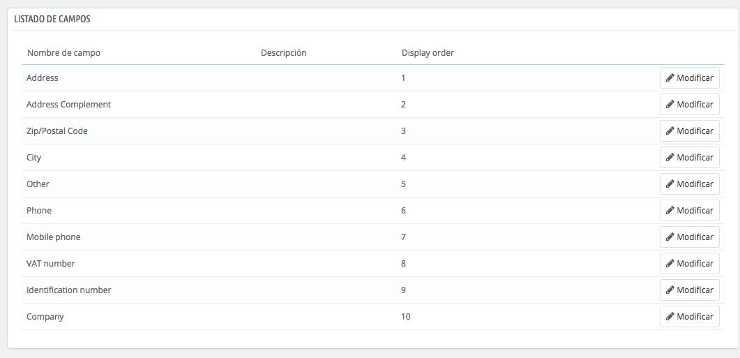 Añadir campos de dirección en el formulario de registro de Prestashop 1.7