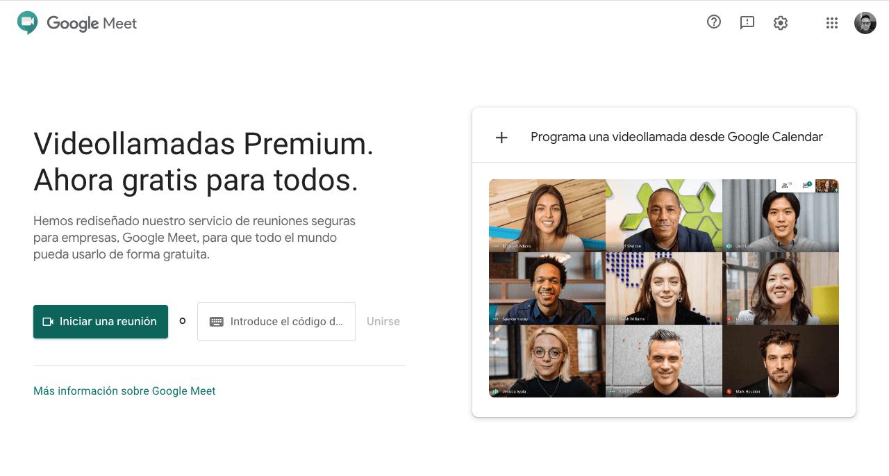 Google Meet - El mejor sistema de video llamadas para empresas